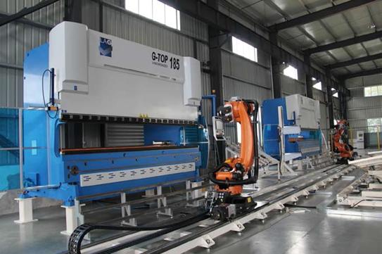 嘉意机床:钣金工业自动化技术提供商