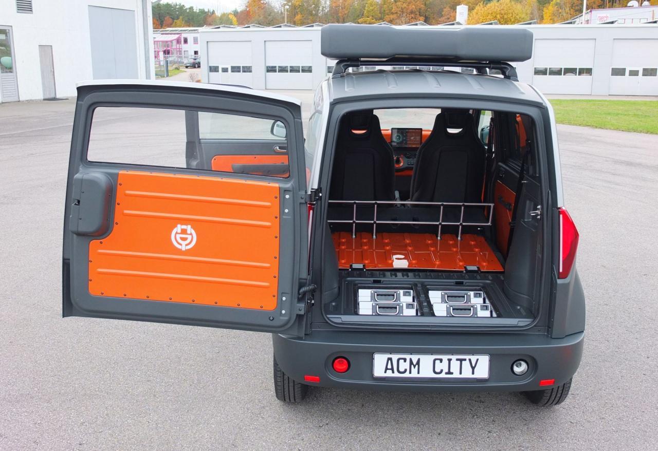 2021慕尼黑车展:ACM City One亮相